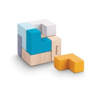 Plan Toys 3D Puzzle Cube | LeVida Toys