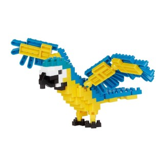 Nanoblock Blue and Yellow Macaw - LeVida Toys