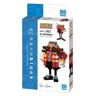 Nanoblock Sonic the Hedgehog: Dr Eggman - LeVida Toys