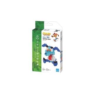 Nanoblock Crash Bandicoot: Ripper Doo - LeVida Toys