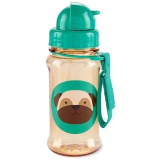 Skip Hop - Zoo Straw Bottle - Pug - LeVida Toys