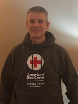 Red Cross Sweatshirt