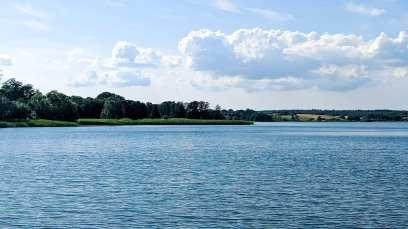 Sjaelso sjö i Danmark.