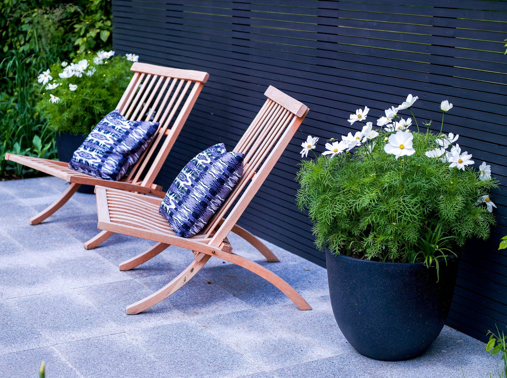 Trädgårdsdesign av trädgårdsdesigner och arkitekt Ulrika Levin.