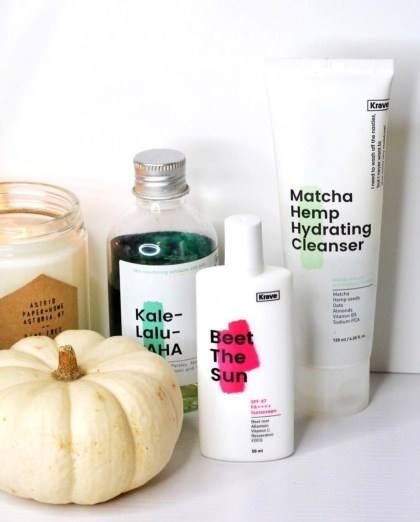 My top 10 products of 2018 | Liah Yoo Krave Beauty Skincare | Krave Beauty Matcha Hemp Hydrating Cleanser | best hydrating cleanser | best cleanser for all skin types | Best cleanser for acne-rone or dry skin | Krave Beet the Sun | Krave Kale-Lalu-yAHA AHA Glycolic Acid Serum | Best k-beauty products | Skincare routine | Skincare collection | LevitateBeauty.com