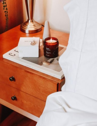 maude: the sexual wellness brand for millennials. Maude's vibe personal massager is tiny, discreet, and effective. The rechargable vibrator is easy to maintain and looks super decorative and discreet on your nightstand!