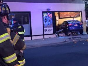 Popular Eatery Damaged When Car Fleeing From Police Crashes