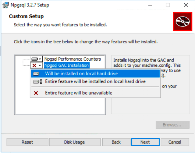 Npgsql GAC Installation Option