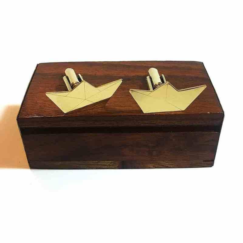 Gemelos barco de papel - Le Voilà