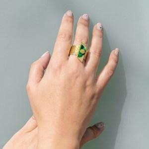 Ring L.E.D.L.A. I I Look-Le Voilà