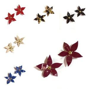 Pendientes Blume mosaico - Le Voilà