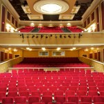 The Levoy Theatre, view from the stage