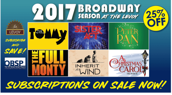 Broadway Subscription On Sale
