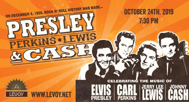 Presley, Perkins, Lewis & Cash