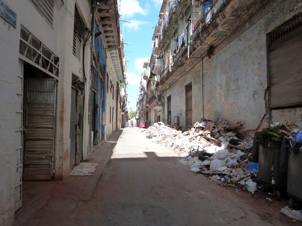 Le problème des déchets à la Havane