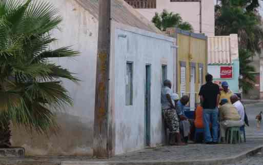 Les joueurs de belote de Palmeira - SAL