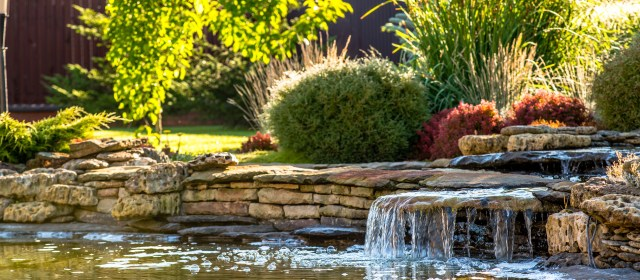 Landscaping around your Waterfall or Water Feature