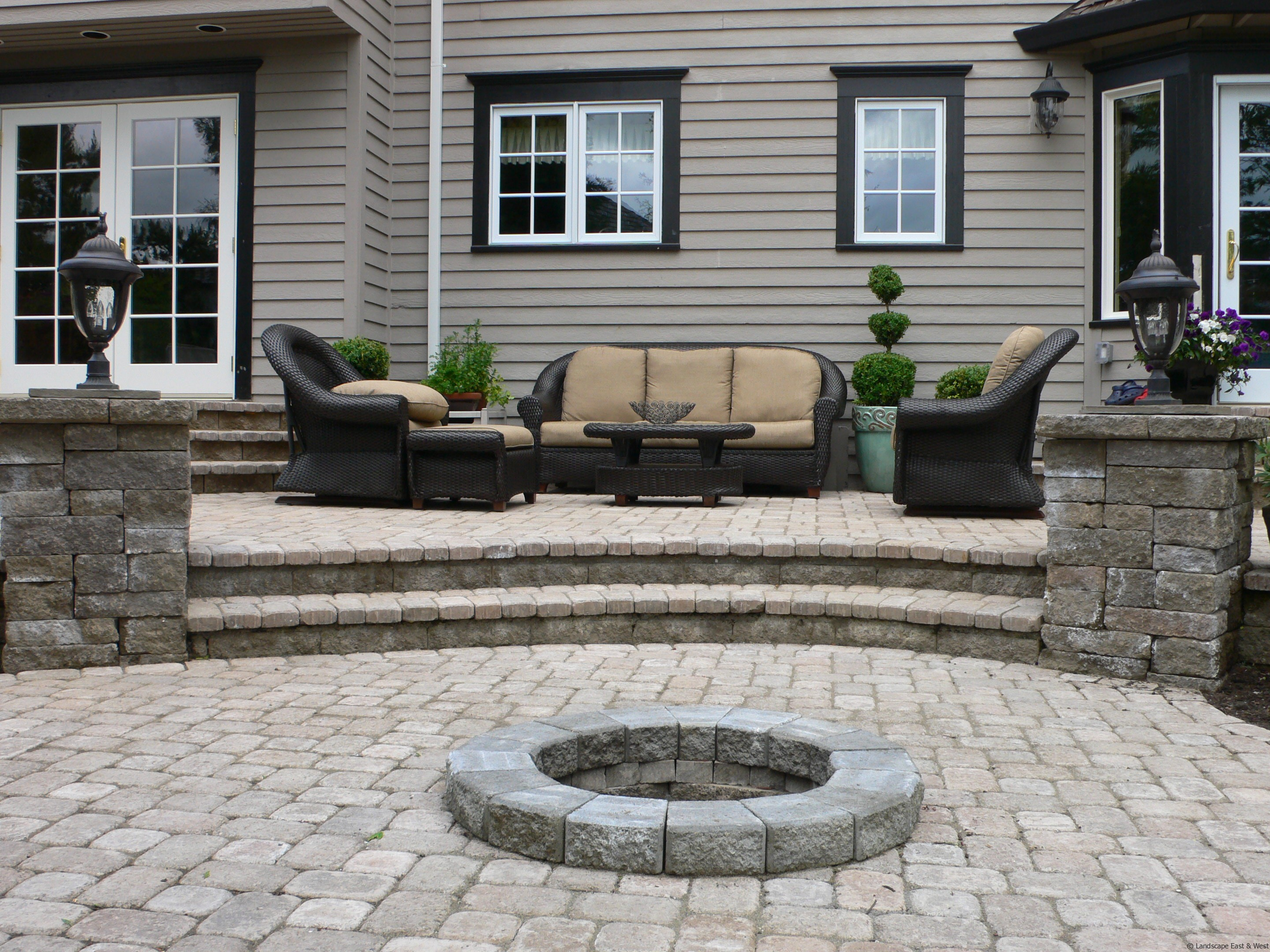 5 Ways to Improve Patio Designs for Portland Landscaping ... on Backyard Stairs Design id=72445