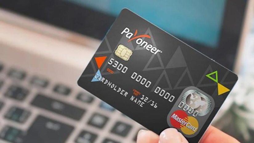 Retirer l'argent du compte Payoneer par carte bancaire