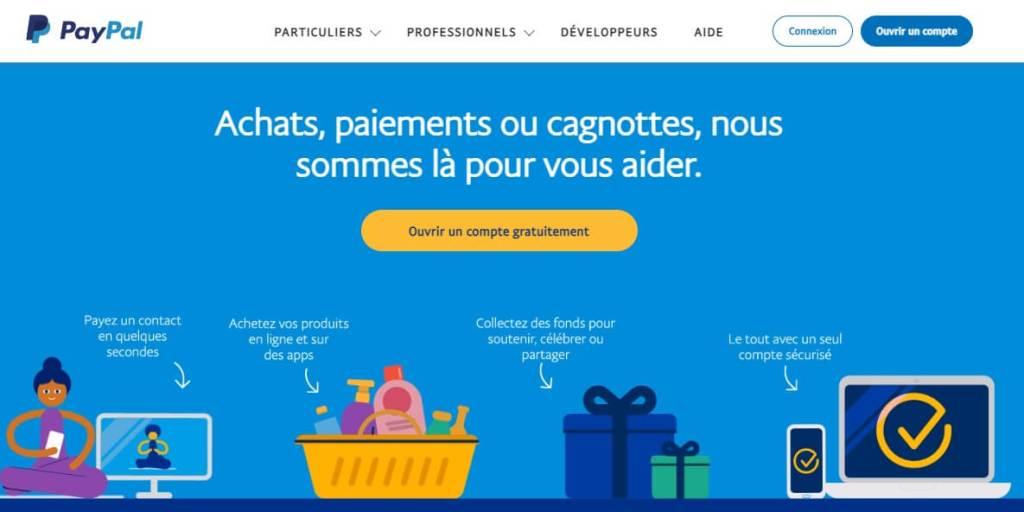 modes de paiements - Paypal