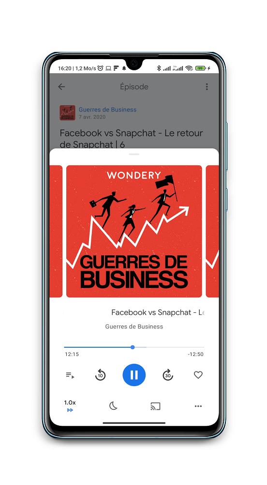La guerre des business - podcasts pour entrepreneurs