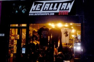 FACADE METALLIAN STORE