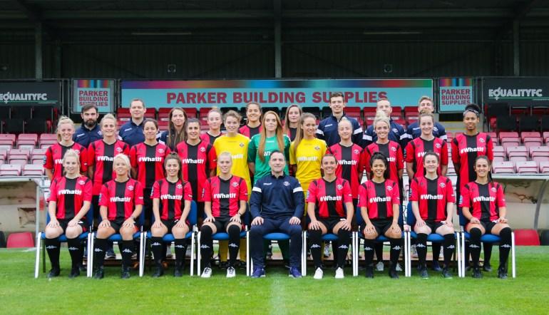 Lewes FC Women Team Photo 2018-19