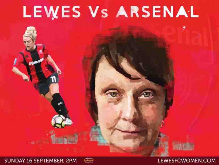 Lewes v Charlton poster