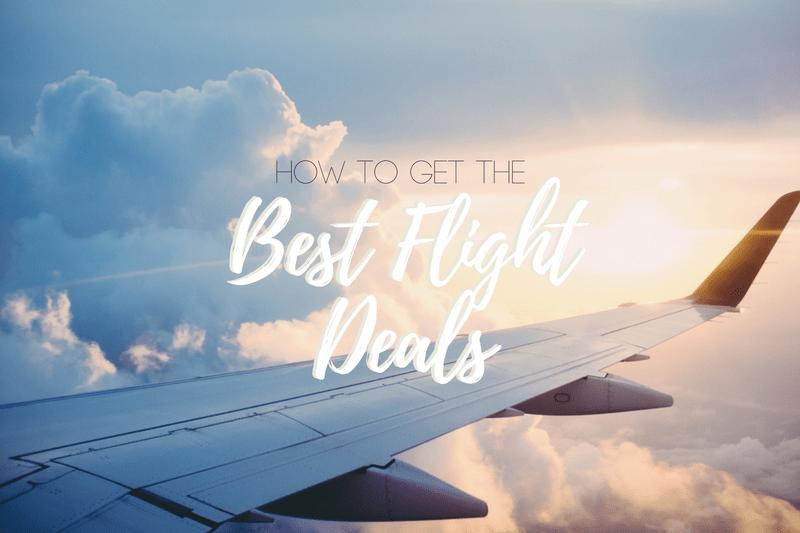 get deals on flights