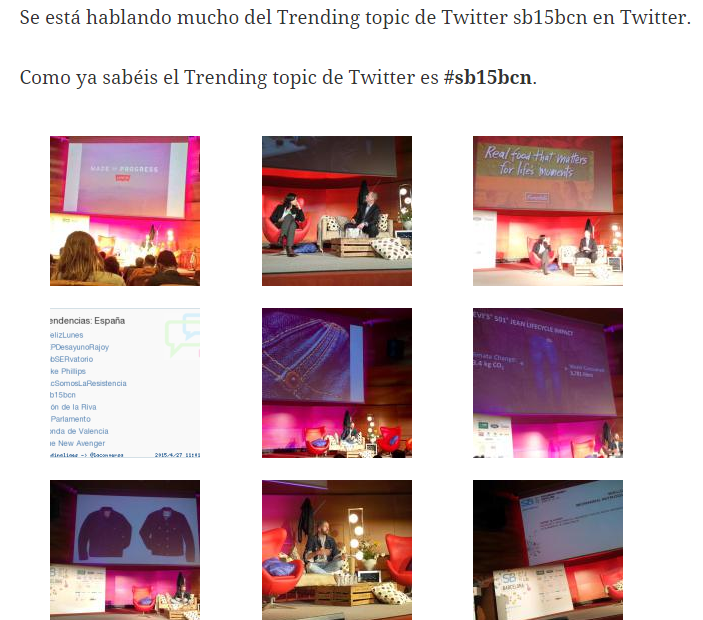 social media sponsoring Trending Topic España
