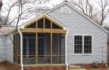 Room Addition & Screened Porch