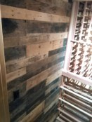 pallet wood accent wall