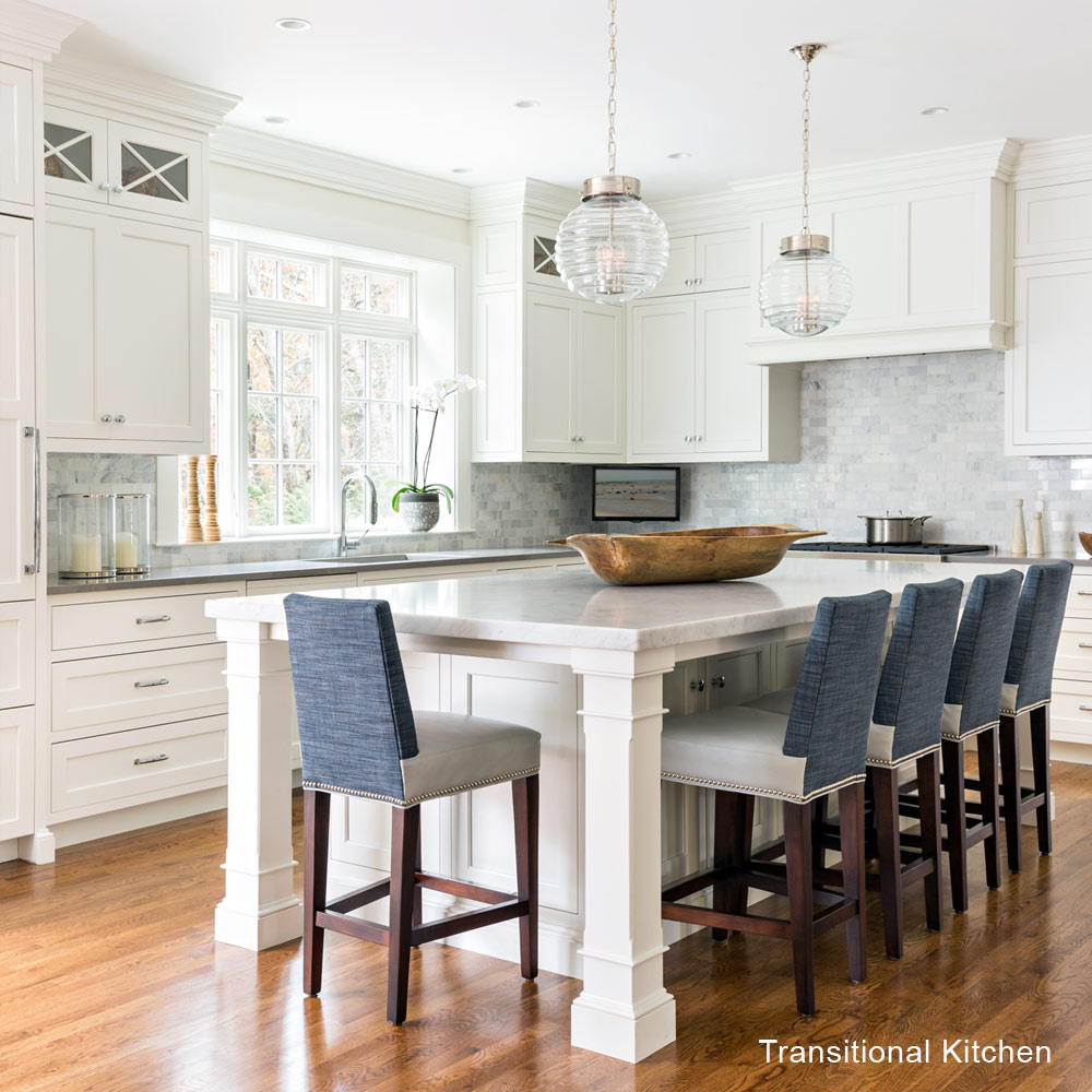Traditional vs Transitional Kitchens - Lewis & Weldon ... on Kitchen  id=76327