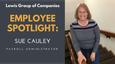 INTEGRITY & TEAMWORK: Meet Sue Cauley, Payroll Administrator