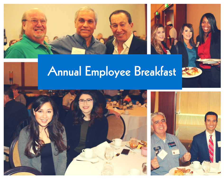 Lewis Careers Annual Company Breakfast Photo Collage