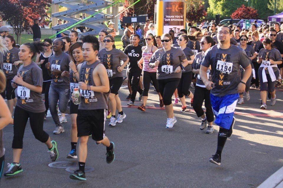 Phuong Nguyen on a marathon event