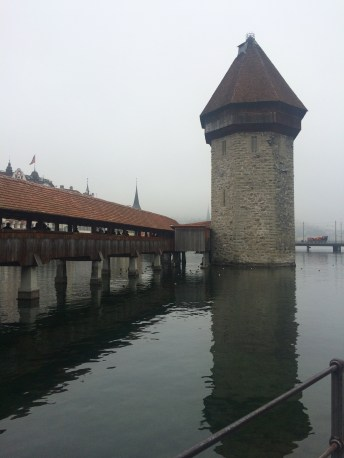 The water tower/old prison tower in Lucerne