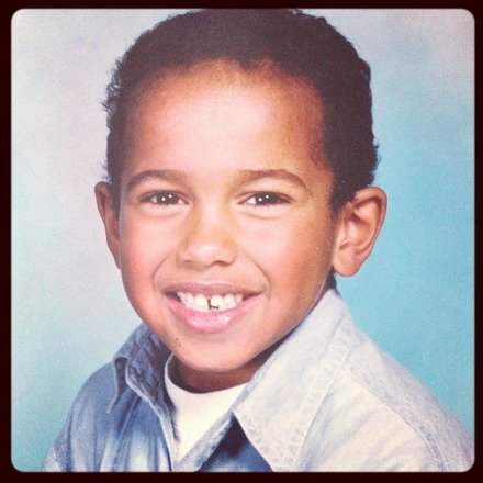 Lewis Hamilton Young Picture