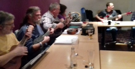 Feb 2016 - Andrew, Rufus, Chris, Jeanette & Colin