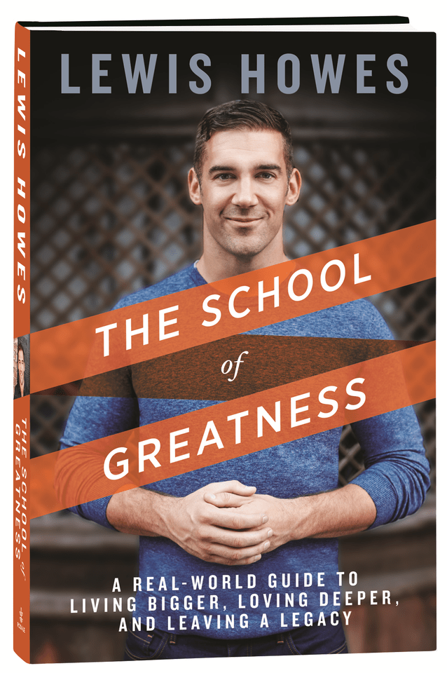 School of Greatness new book cover