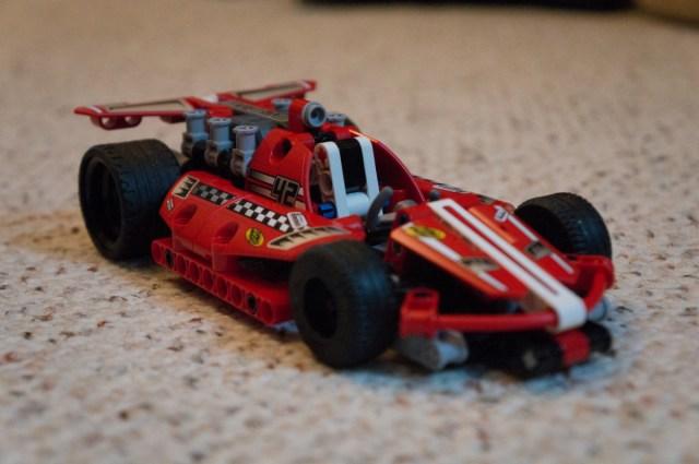 Review Lego Technic 42011 Race Car Lewis Leong
