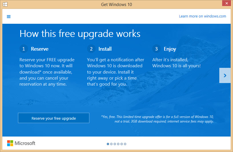 free windows 10 upgrade instructions