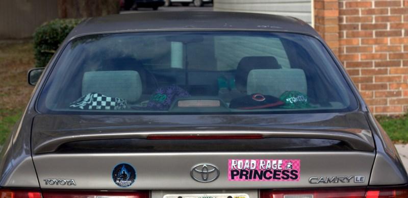 Road rage princess