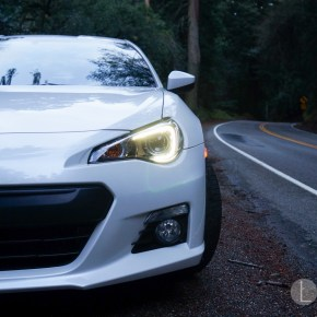 Subaru BRZ backroad