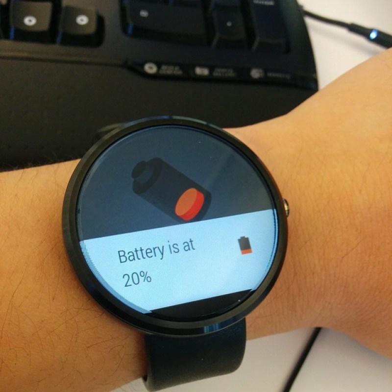 Moto 360 battery life