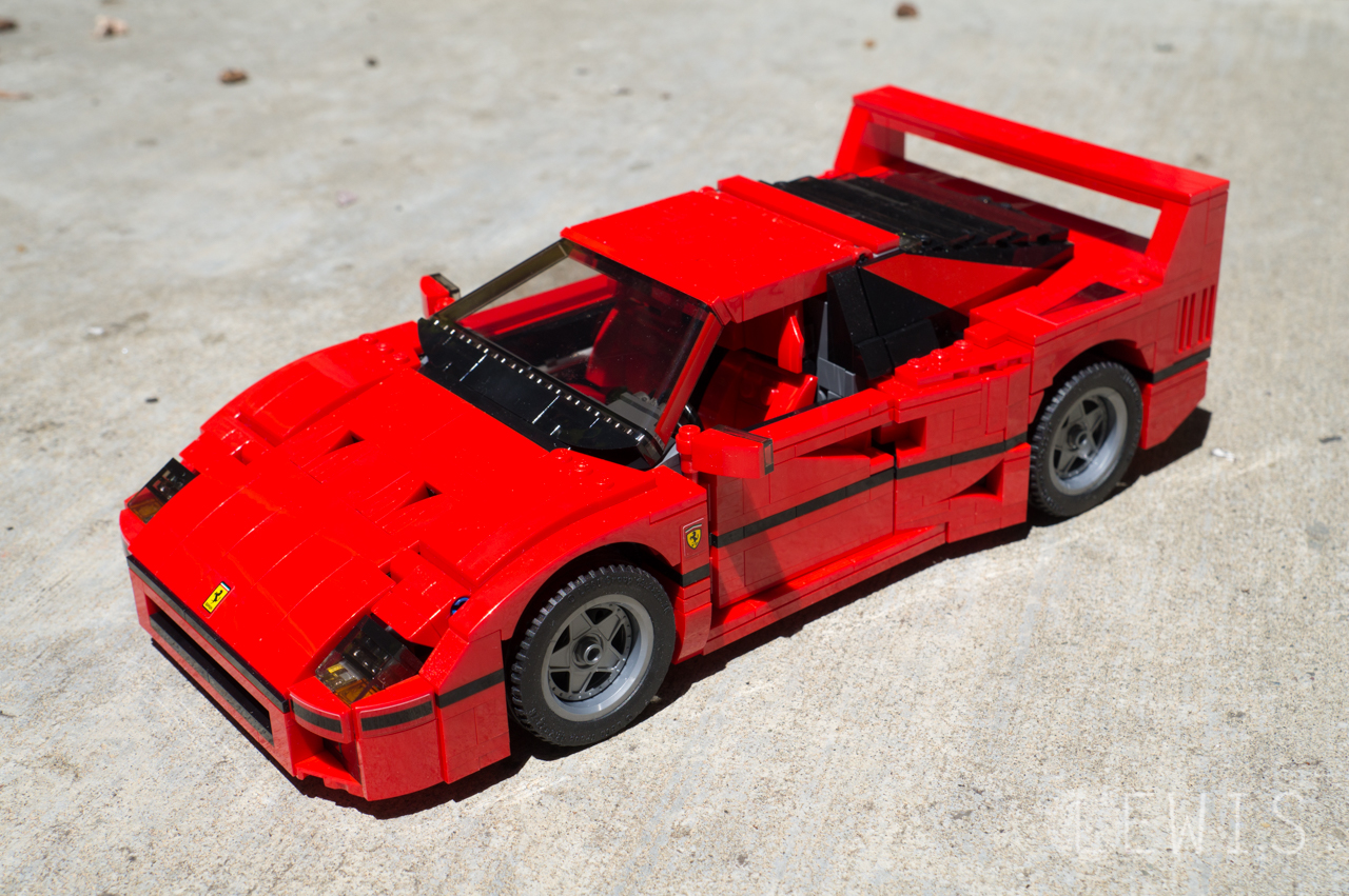 Lego Ferrari F Build
