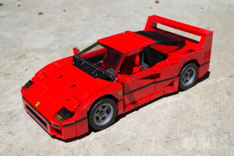 Lego Ferrari F40 front profile