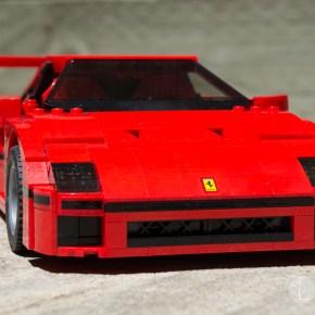 LEGO Ferrari F40 front