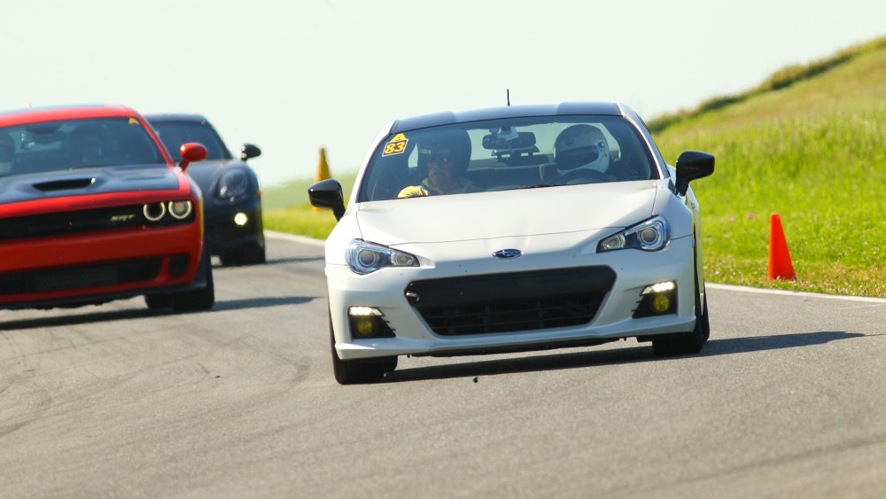 Subaru BRZ Thunderhill track day header
