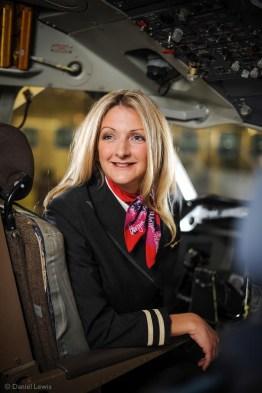Flight uniform designed by Vivienne Westwood/ Virgin Atlantic © Daniel Lewis 2013